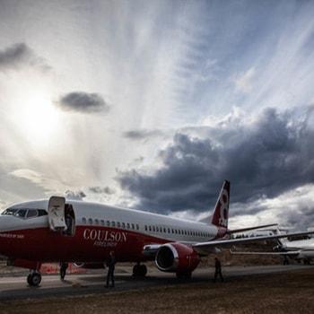Coulson Aviation PTY - Australia Aerial Firefighting Boeing 737 Firetanker