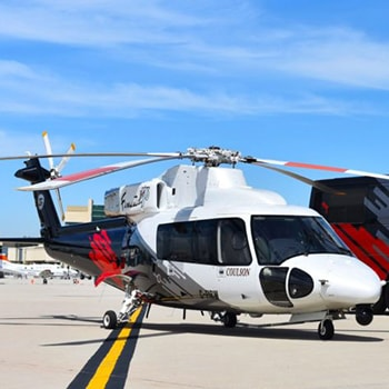 Coulson Aviation PTY - Australia Aerial Firefighting S-76 Sirkorsy Helicopter