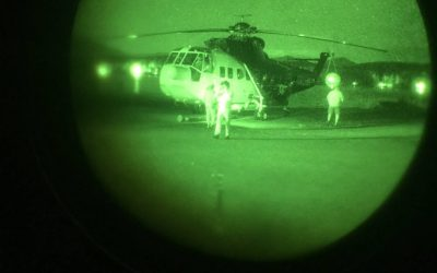 Nighttime firefighting tests being conducted in Australia