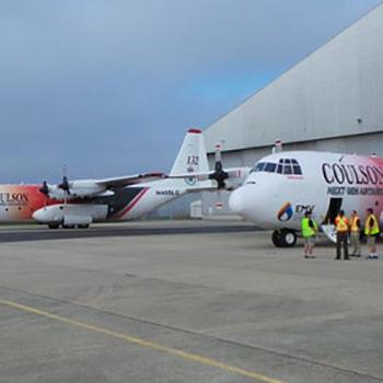 Coulson Aviation PTY - Australia Aerial Firefighting C-130 Hercules Firetanker