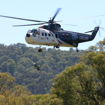 Coulson Aviation PTY - Australia Aerial Firefighting S-61 Sirkorsy Helicopter