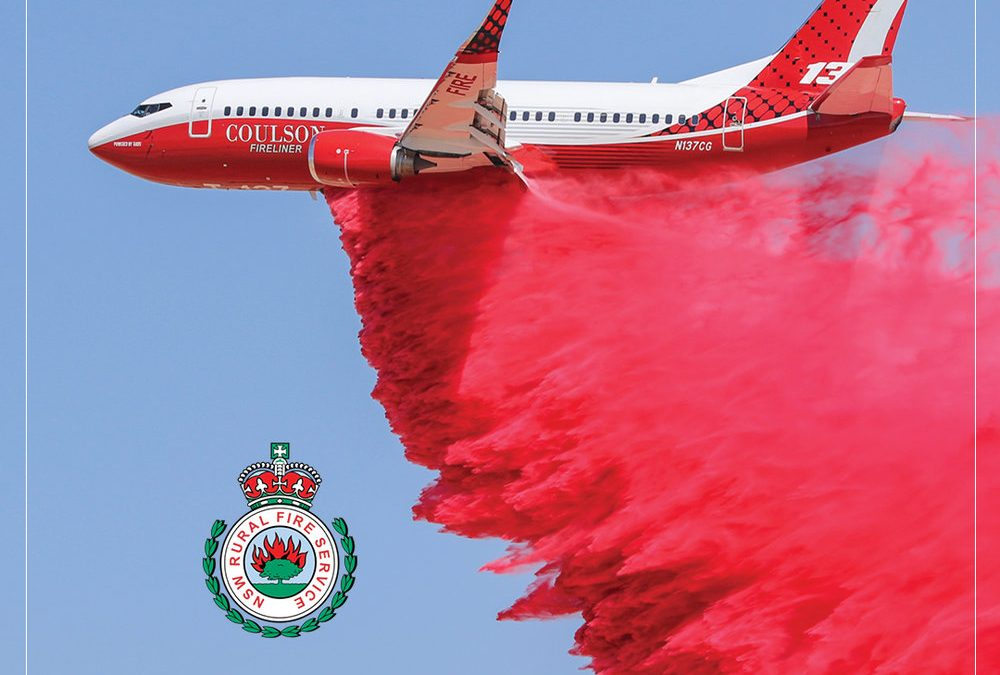 Coulson Aviation Firefighting Boeing 737