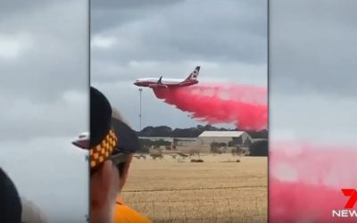 Australia's RFS (Rural Fire Service) Has Flown 600 Missions this Fire Season