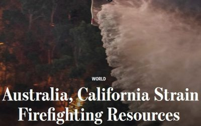 Wall Street Journal on aerial firefighting in Australia