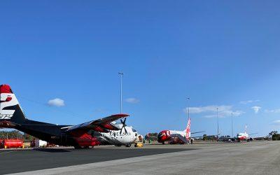Large Air Tankers Dominating The Skies