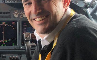 Stuart Haynes Becomes Fixed Wing Chief Pilot