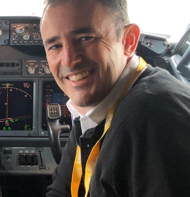 New Fixed Wing Chief Pilot