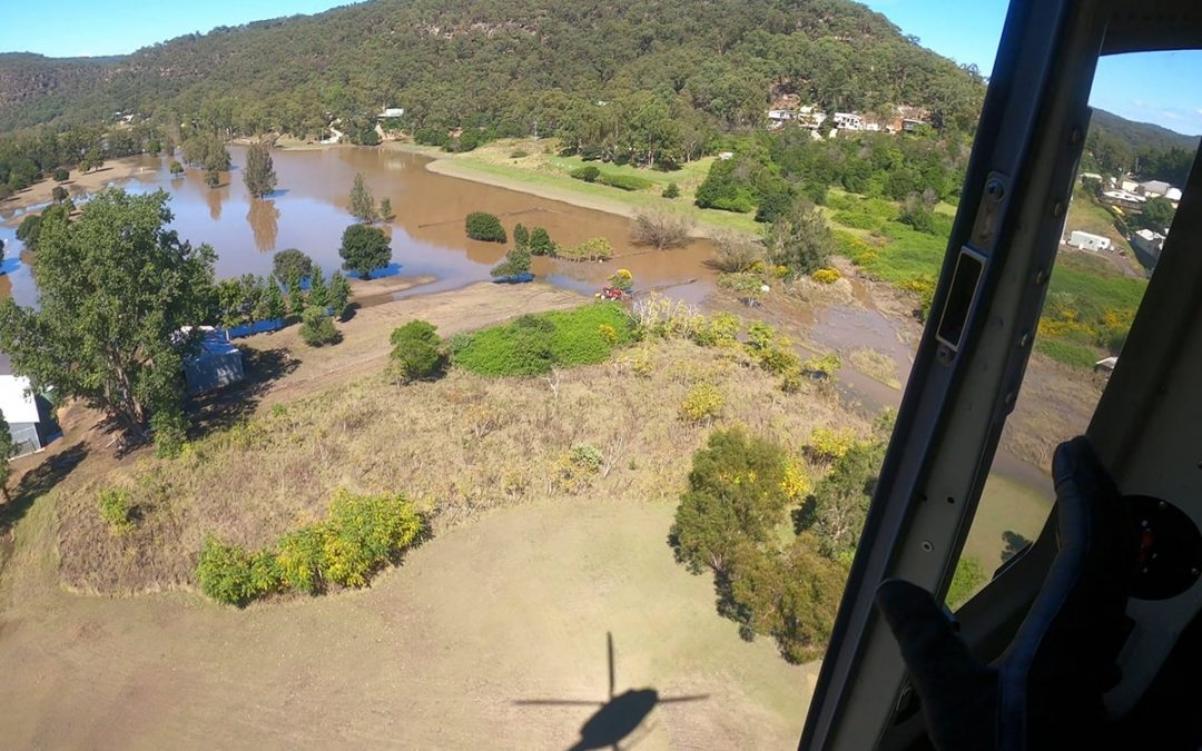 Coulson Aviation Australia Assisting Flood Isolated Communities
