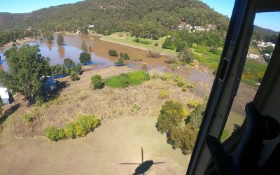 Coulson Aviation Australia Assisting Flooded Communities