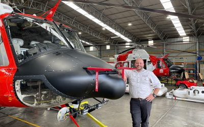 Kevin Mowad – Rotary Wing Responsible Manager