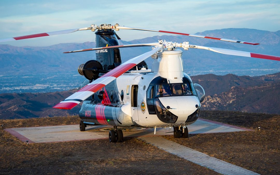 Coulson Chinooks Bound for Australia