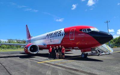 737 FIRELINER™ Returns to Australia