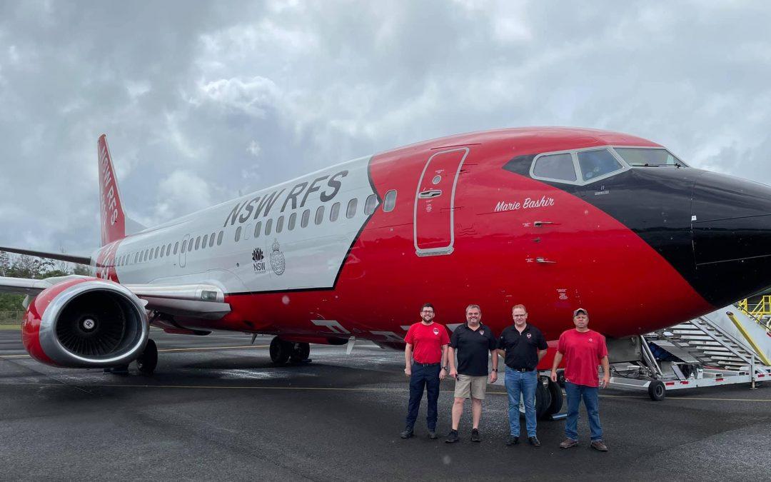 International Experience for Australian Pilot